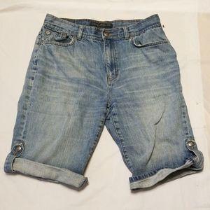 Lauren Jeans co. by Ralph Lauren denim short sz 8